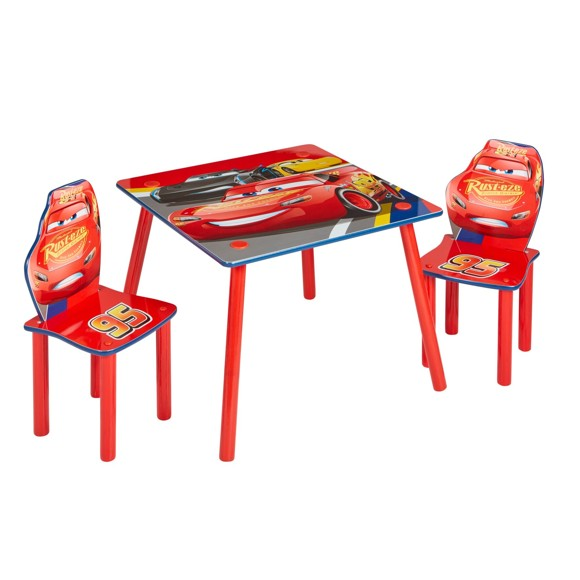 Disney Cars - Kids Table and 2 Chairs Set (527CDY01NE)