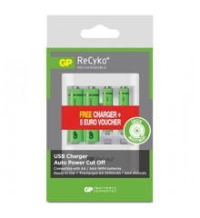 GP - ReCyko+ Batterier - 2xAA + 2xAAA