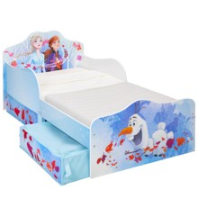 Disney Frozen - Kids Toddler Bed with Storage (509FZO01EM)