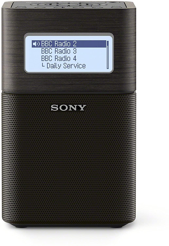 Sony - XDR-V1BTD Portable Clock Radio with Bluetooth/DAB