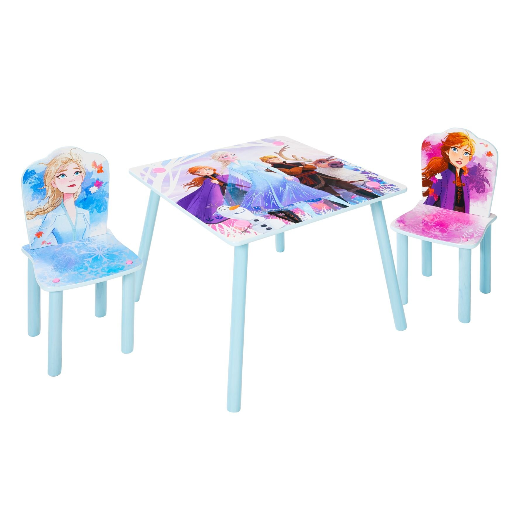 Disney Frozen - Kids Table and 2 Chairs Set (527FZO01E)