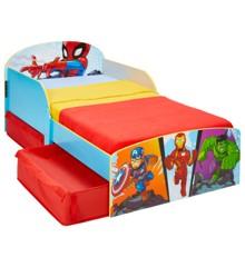 Marvel Superhero Adventures - Kids Toddler Bed with Storage (516MVL01EM)