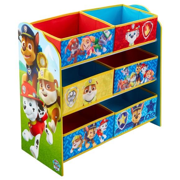 Paw Patrol - Kids Toy Storage Unit (471PTR01E)