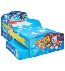 Paw Patrol - Kids Toddler Bed with Storage (509PTL01EM)