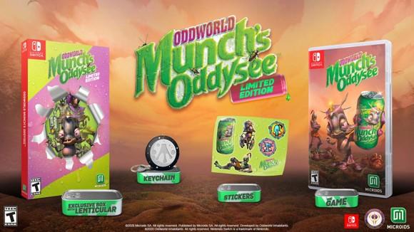 Oddworld Munch Odyssey (Limited Edition)