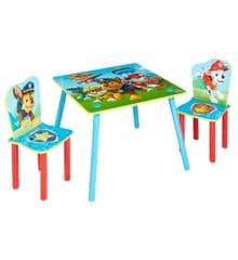 Paw Patrol - Kids Table and 2 Chairs Set (527PTR01NE)