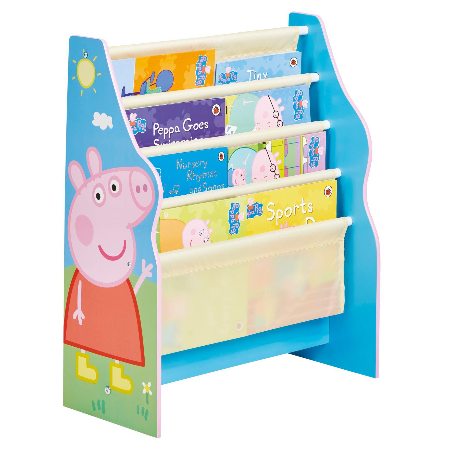 Peppa Pig - Kids Sling Bookcase (470PEL01E)