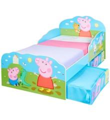 Peppa Pig Kids Toddler Bed with Storage - (509PEP01EM)