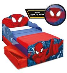 Spider-Man - Toddler Bed with light up eyes and storage (509SDR01EM)