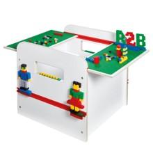 Room 2 Build - Legetøjs Kiste med Byggeplade