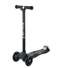 Micro - Maxi Deluxe Scooter - Black/Grey (MMD069)