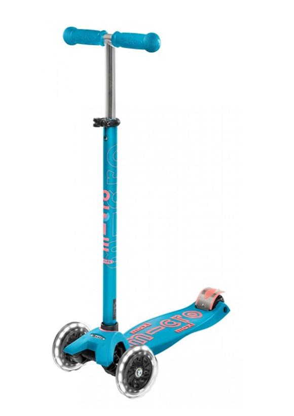 Micro - Maxi Deluxe LED Scooter - Aqua (MMD078)