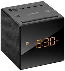 Sony - AM/FM Clock Radio ICF-C1