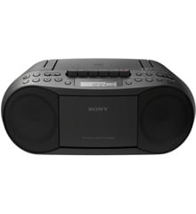 Sony - CFD-S70  Ghettoblaster med Radio CD/kassette