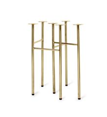 Ferm Living - Mingle Table Legs 71 cm - Brass (100007501)