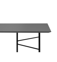 Ferm Living - Mingle Table Top Rectangular 160 cm - Charcoal (9825)