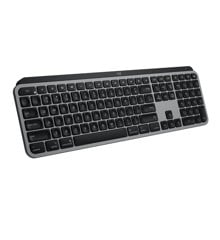 Logitech - MX Keys til Mac Space Grey