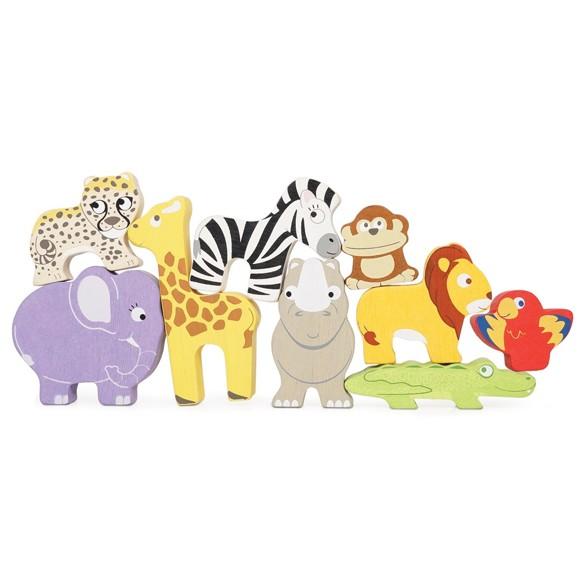 Le Toy Van - Stable-leker i tre, Afrika (LPL 117)