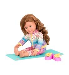 Our Generation - Lucy Grace dukke med yogamåtte (731184)