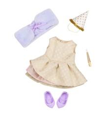 Our Generation - Deluxe dukketøj - Nyttårs kjole (730270)