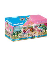 Playmobil - Rideundervisning i hestestalden (70450)