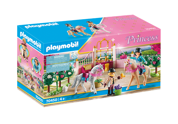 Playmobil - Riding lessons in the horse stable (70450)