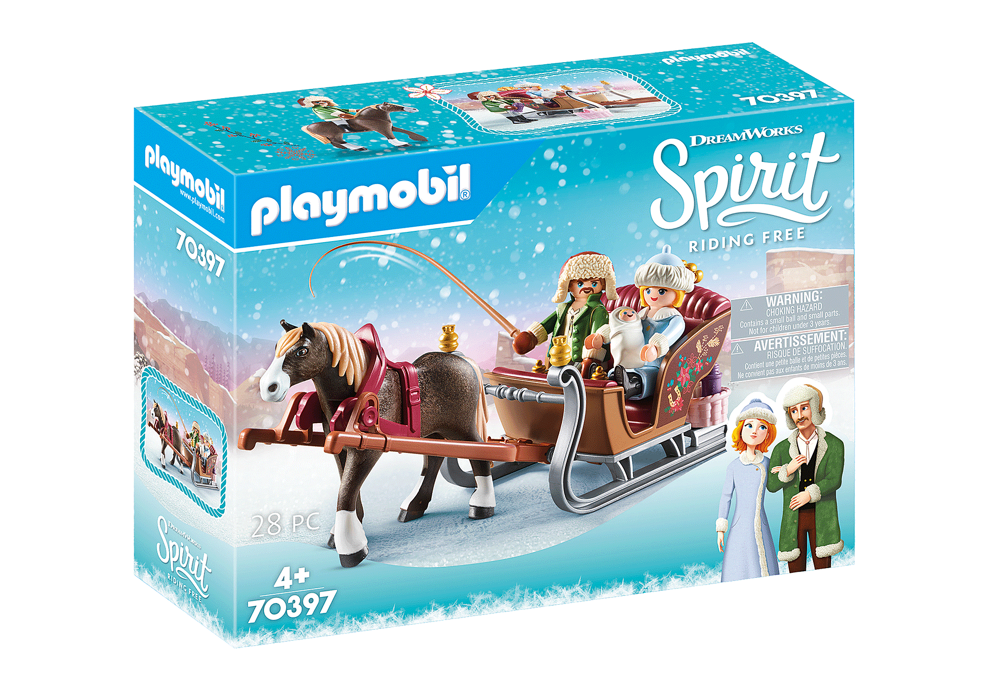 Playmobil - Winter Sleigh Ride (70397)