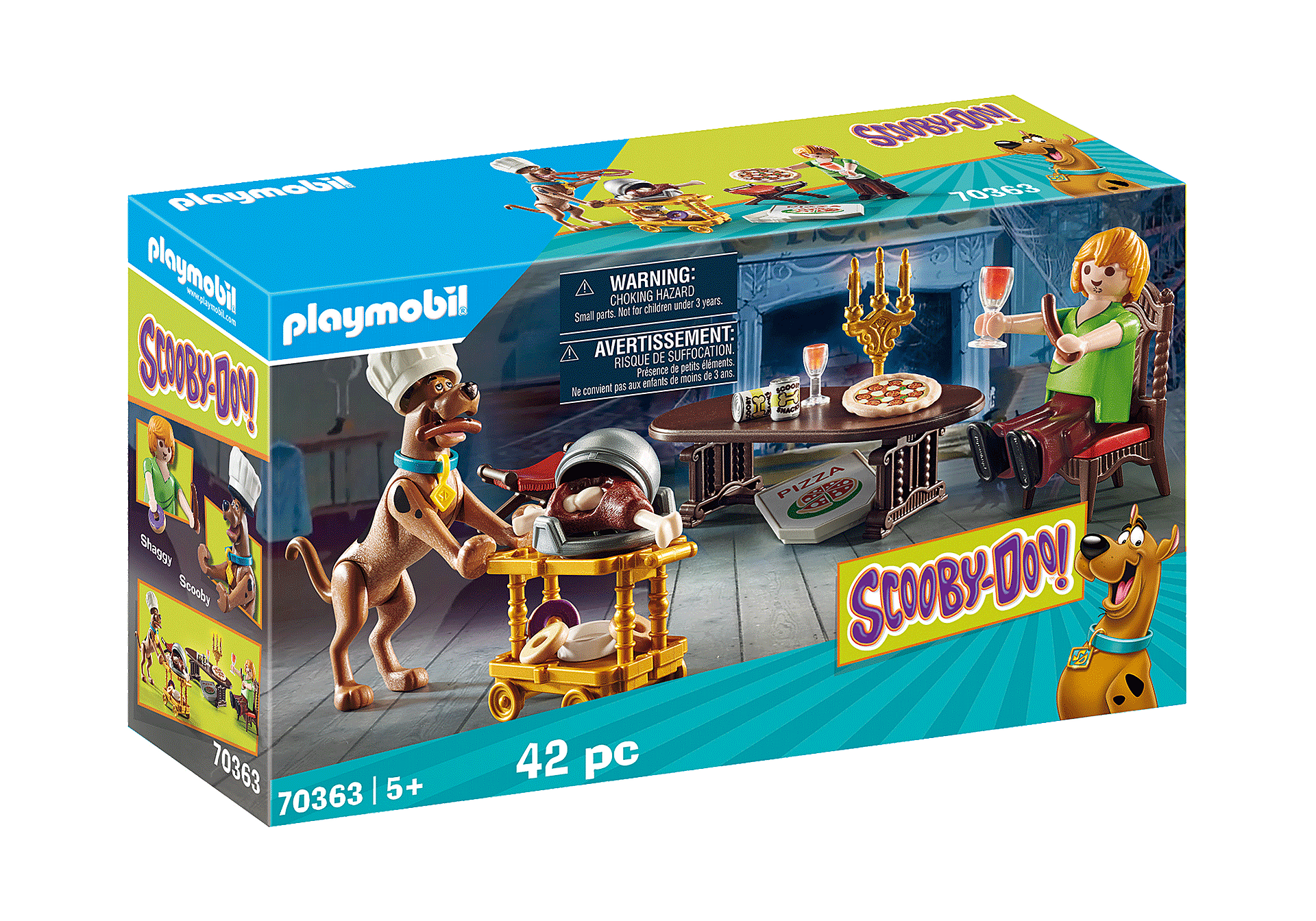 Playmobil - Scooby-Doo - Dinner with Shaggy (70363)