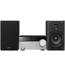 Sony - CMT-SX7B Music System With Bluetooth/Wi-Fi-DAB