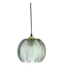 Bloomingville - Glass Pendel Ø 22 cm - Green (30706089)