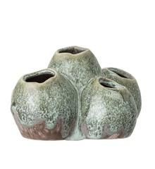 Bloomingville - Stentøj Vase - Grøn