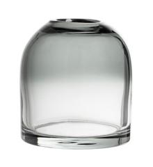 Bloomingville - Glass Vase Ø 12 cm - Grey (31409684)