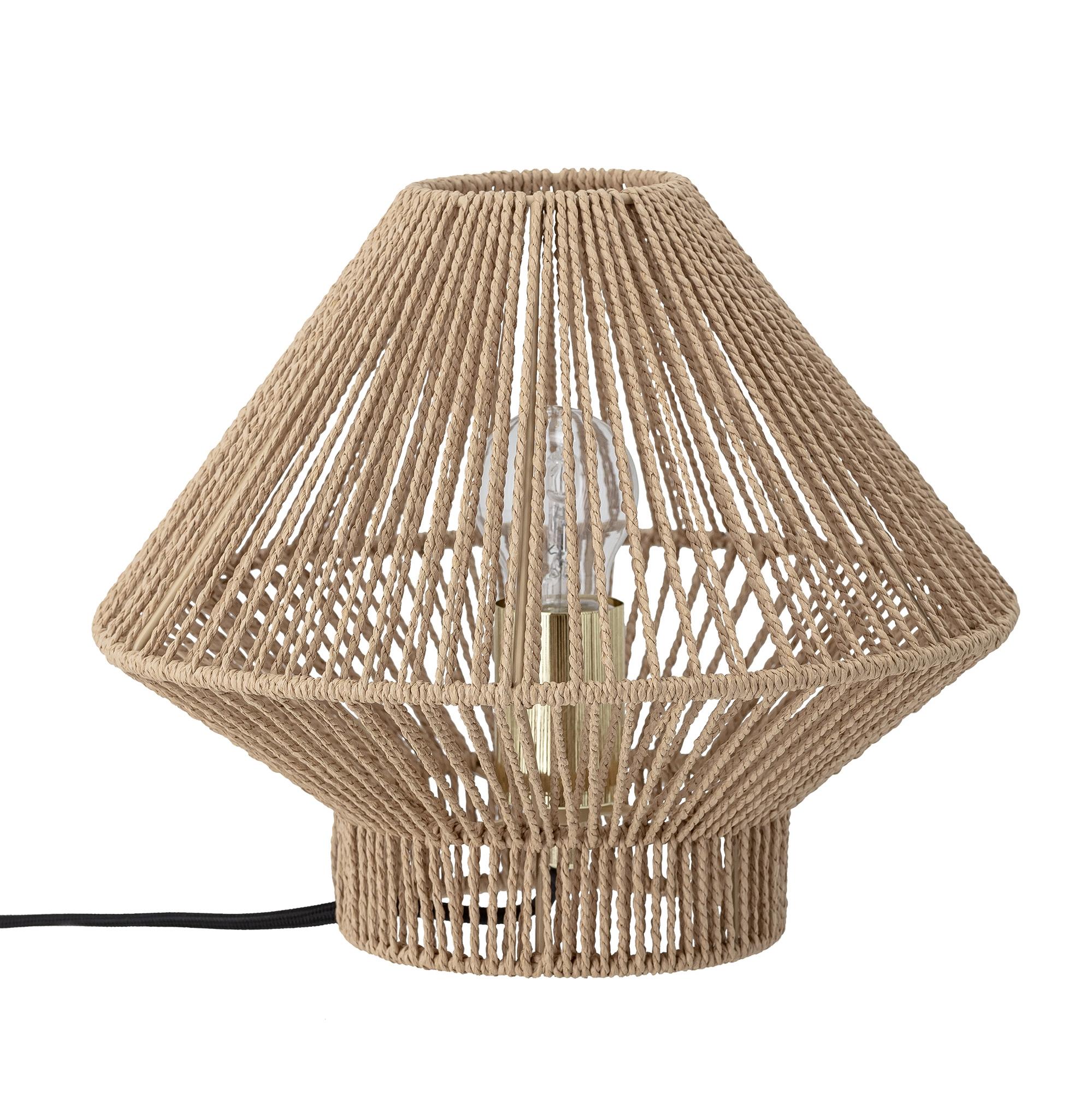 Bloomingville - Papir Table LampØ 30 cm - Natur (82048614)