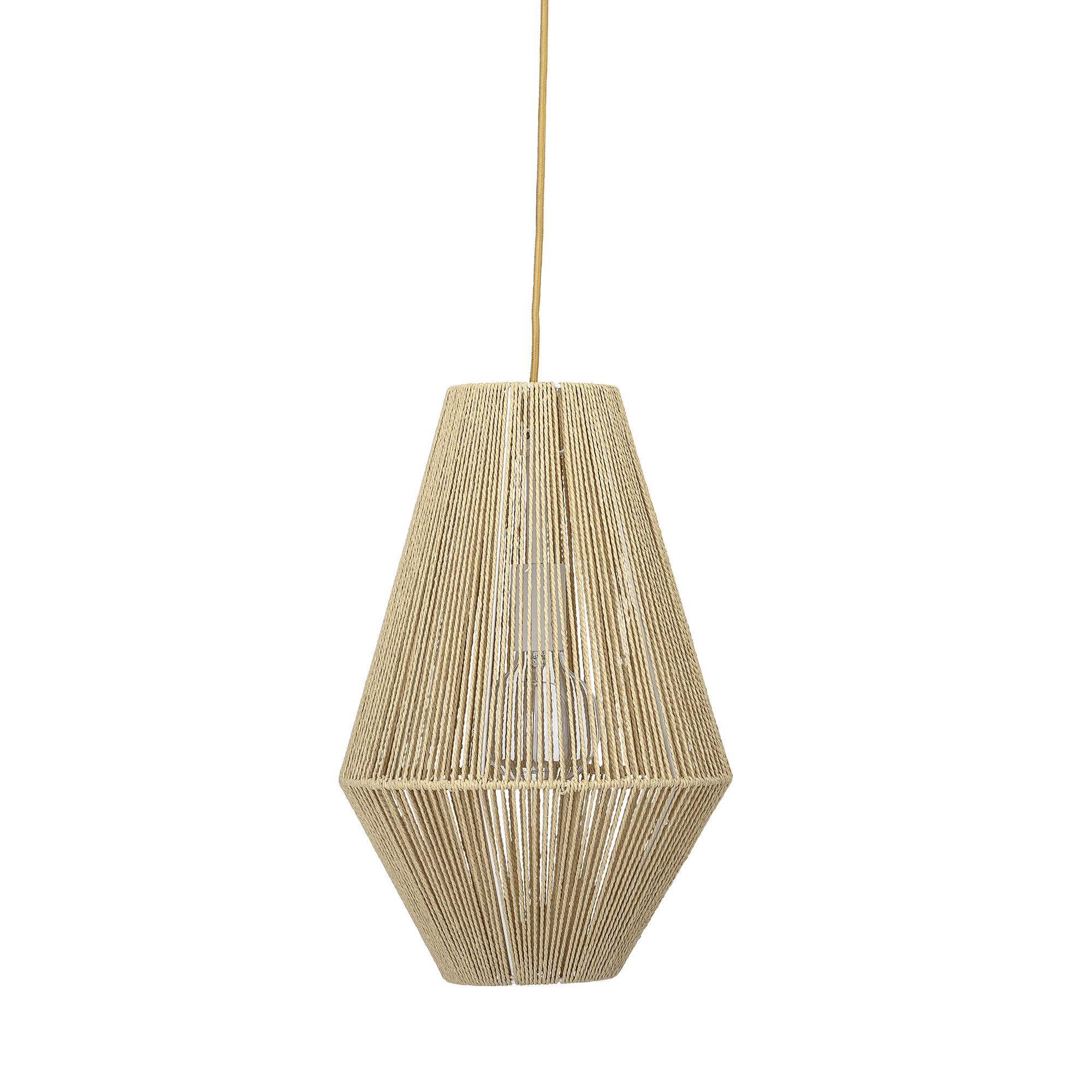 Bloomingville - Papir Pendel Lamp Ø 30 cm - Natur (82044722)