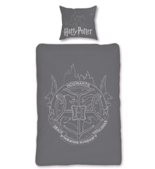Bed Linen - Adult Size 140 x 200 cm - Glow in The Dark - Harry Potter (HP035- CS)