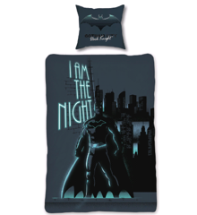 Bed Linen - Adult Size 140 x 200 cm - Glow in The Dark - Batman (BAT013 – CS)