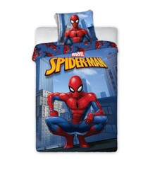 Sengetøj - Voksen str. 140 x 200 cm - Spiderman