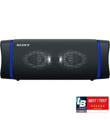 Sony - SRS-XB33 Portable Waterproof Bluetooth Speaker - Black