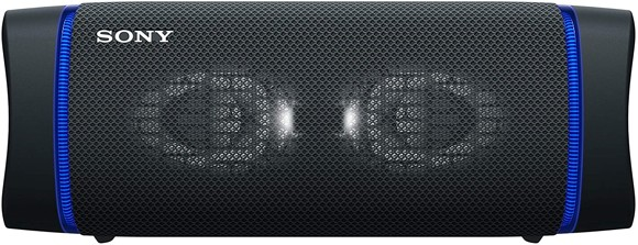 Sony - SRS-XB33 Portable Waterproof Bluetooth Speaker - Black