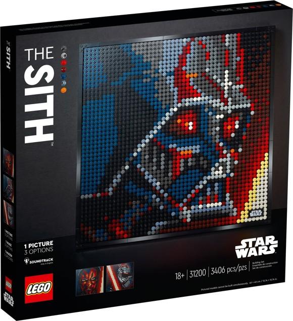 LEGO Art - Star Wars Sith-fyrsterne (31200)