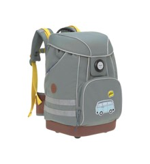 Lässig - School Bag - Grey Adventure bus (291205002462)