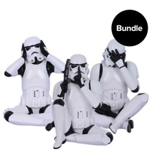Star Wars - Stormtrooper See/Hear/Speak No Evil - 10 cm (Bundle)