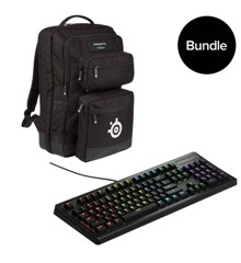SteelSeries - Apex 150 Gaming Keyboard Nordic & Gaming Bag - Bundle - Nordic Layout
