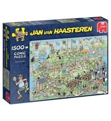 Jan Van Haasteren - Highland games- Puslespil 1500 brikker (19093)