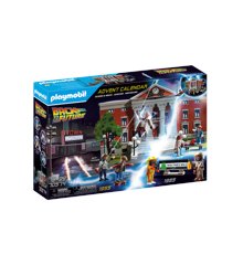Playmobil - Julekalender - Tilbage til fremtiden (70574)