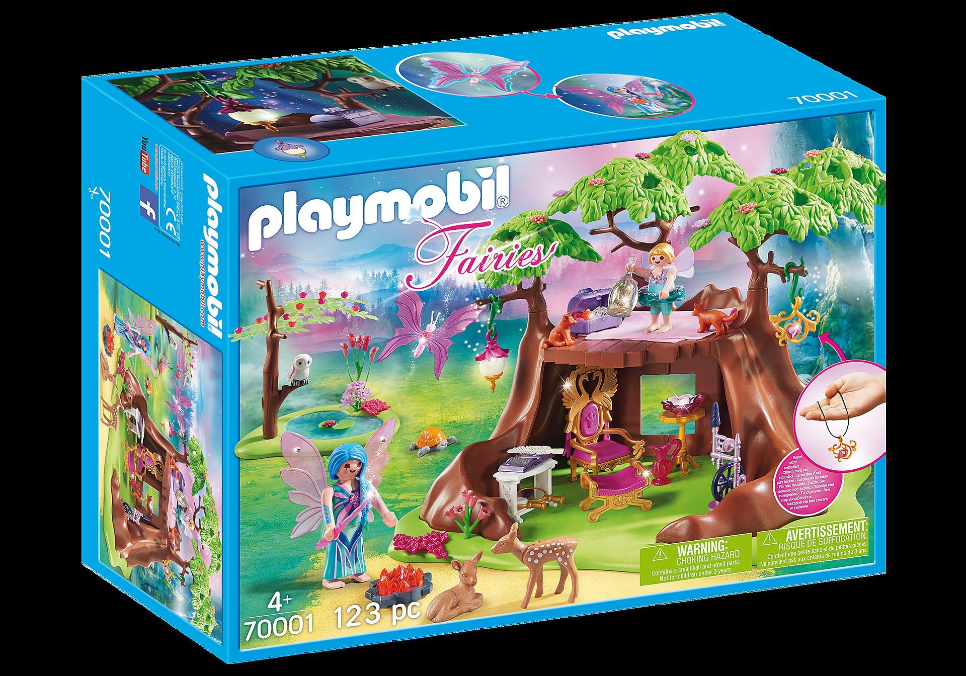 Playmobil - Fairy Forest House (70001)