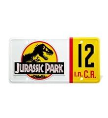 Jurassic Park - Dennis Nedry Licence Plate Replica