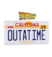 Back To The Future OUTATIME Licence Plate
