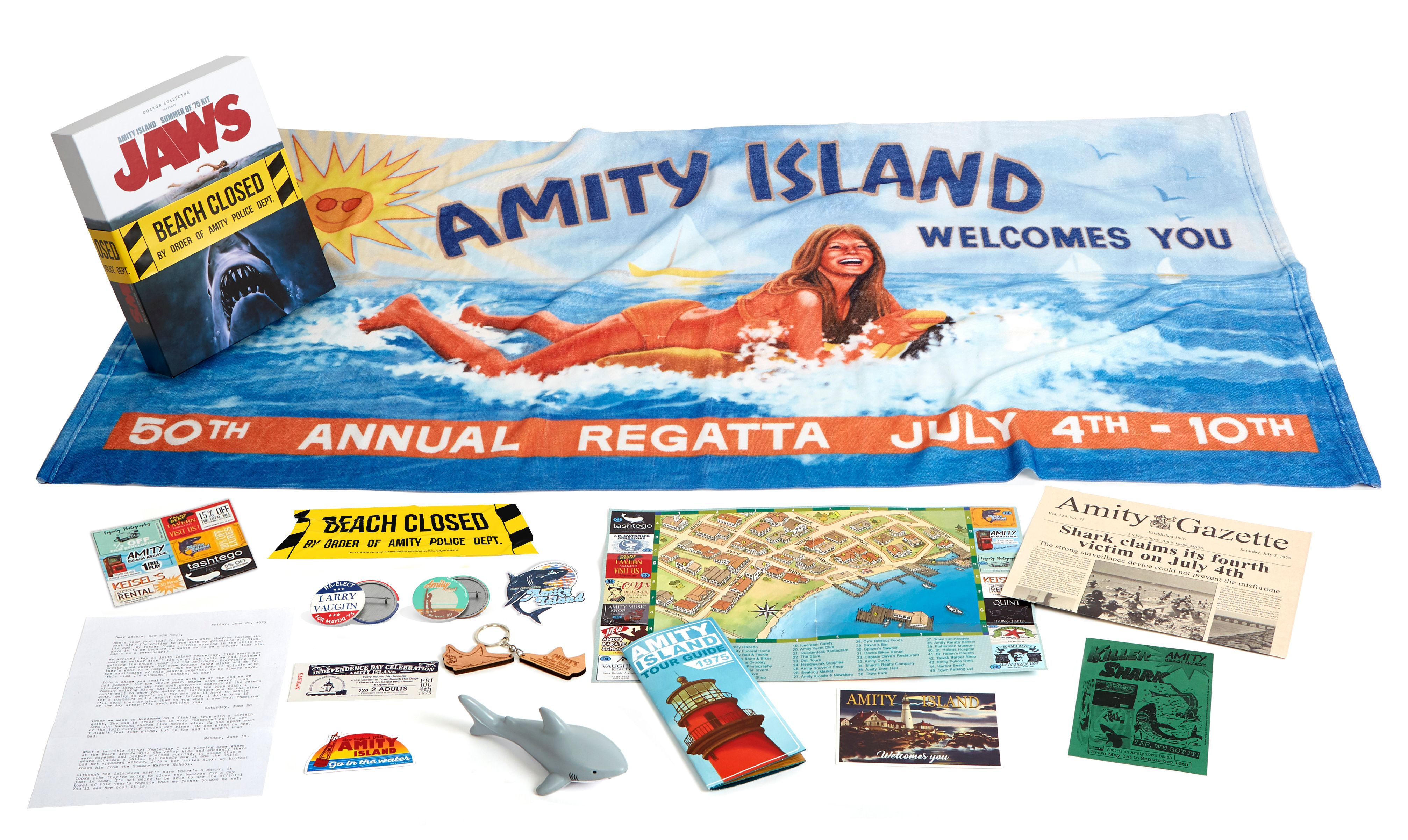 Jaws - Amity Island Summer of 75 Kit