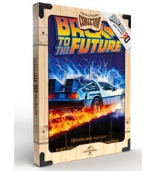 Back to the future WOOD POSTER BTTF1